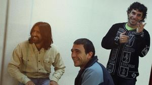 Carmelo Laucirica, Igor Gonzalez y Jon Koldobika, miembros del 'comando Donosti', en el juicio en el 2007.