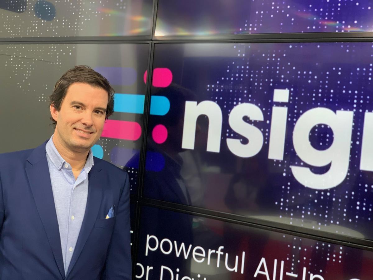 Toni Viñals, fundador y CEO de nsign.tv.
