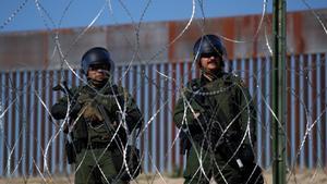 Agentes de la Patrulla Froteriza de los EEUU.