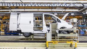 Planta de producción de Nissan en la Zona Franca.