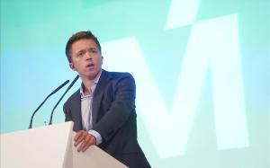Iñigo Errejón, en su presentación como candidato de Más País, el pasado miércoles.