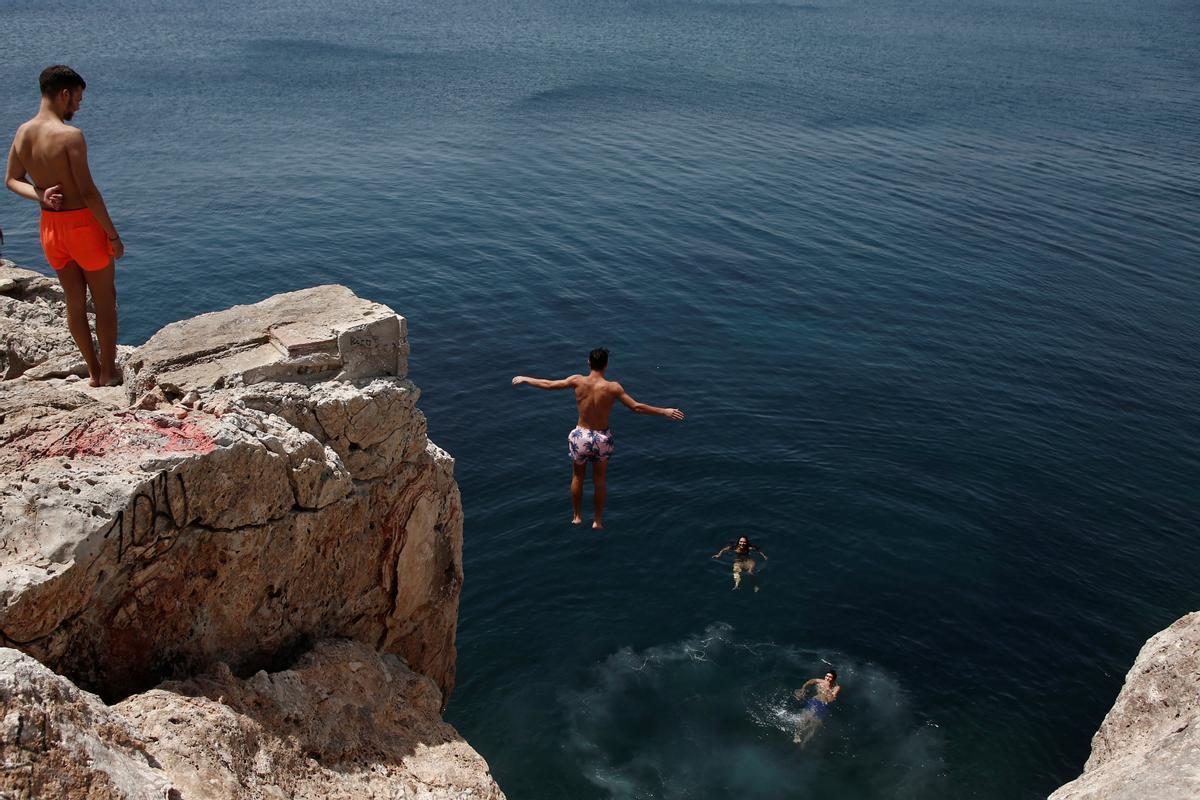 Grècia, immersa en la pitjor onada de calor dels últims 35 anys