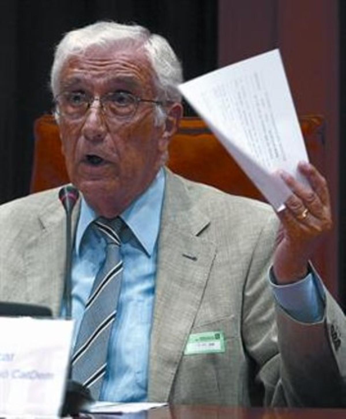 El extesorero de CDC Daniel Osácar, imputado en el 'caso Palau'.