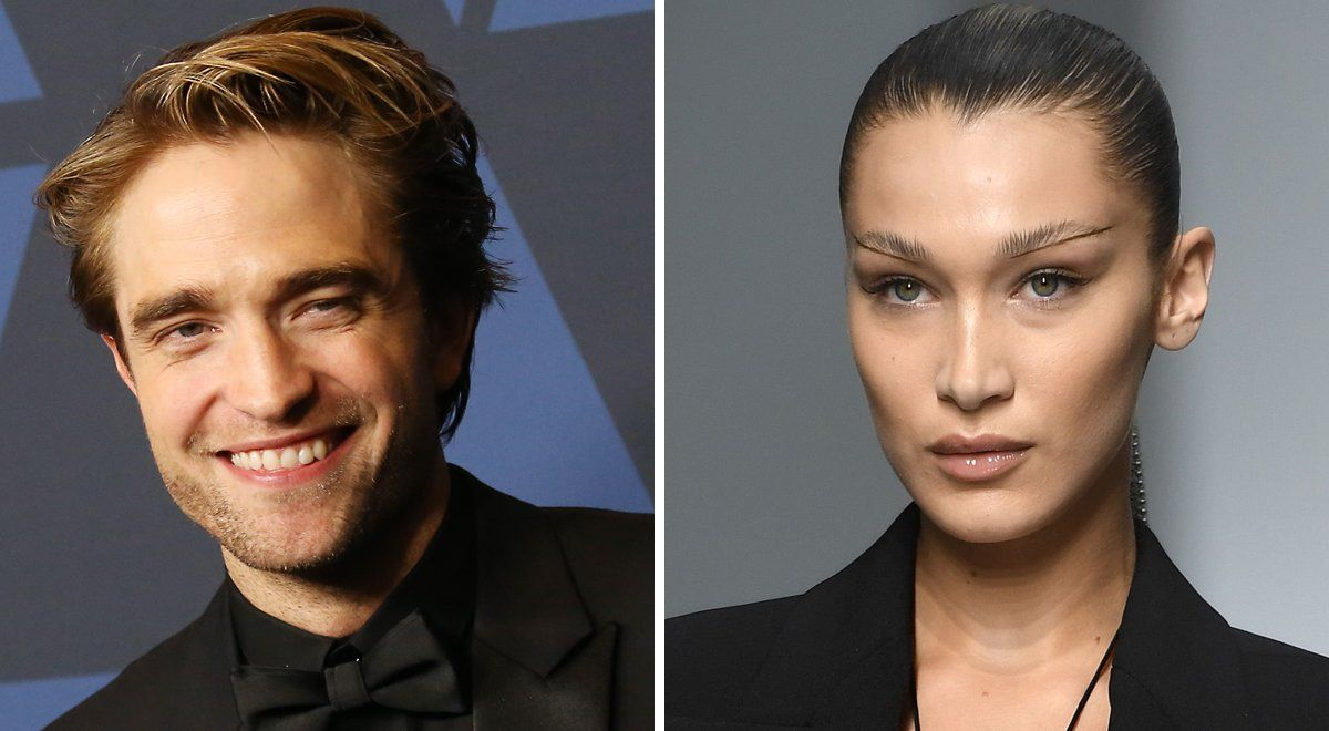 Robert Pattinson y Bella Hadid.