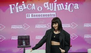 Angy, en la presentación de 'FoQ: el reencuentro'.