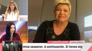 """Terelu Campos rompe a llorar en 'Viva la vida': """"Nos representáis a quienes no podemos estar ahí"""""""