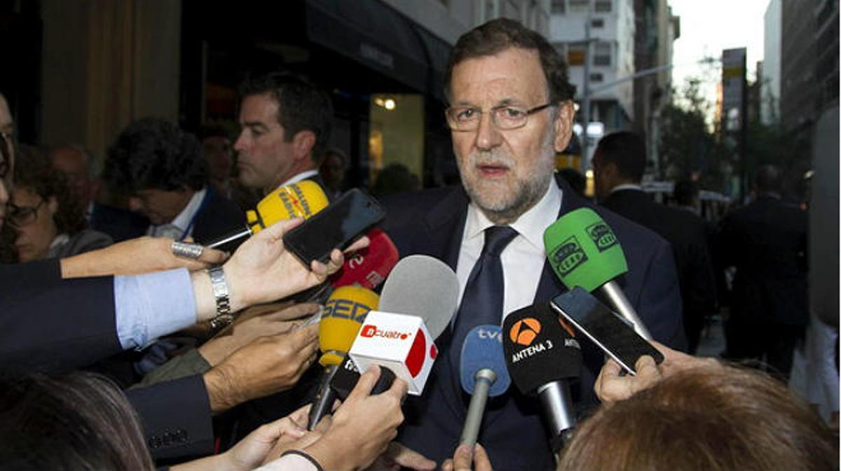 El presidente recuerda que en alguna ocasión ha sido Bruselas quien se ha equivocado ensus previsiones.