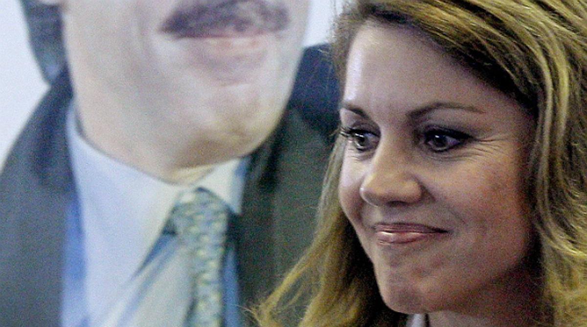 Cospedal ha insistido este lunes que las razones que han llevado a Bárcenas a prisión no tienen nada que ver con el PP.