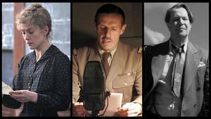 Fotogramas de 'Madame Curie', 'De Gaulle' y 'Mank'