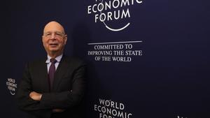 El presidente del Foro Económico Munial y del Foro de Davos, Klaus Schwab.