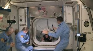 La nau de Space X s'acobla amb èxit a l'Estació Espacial Internacional