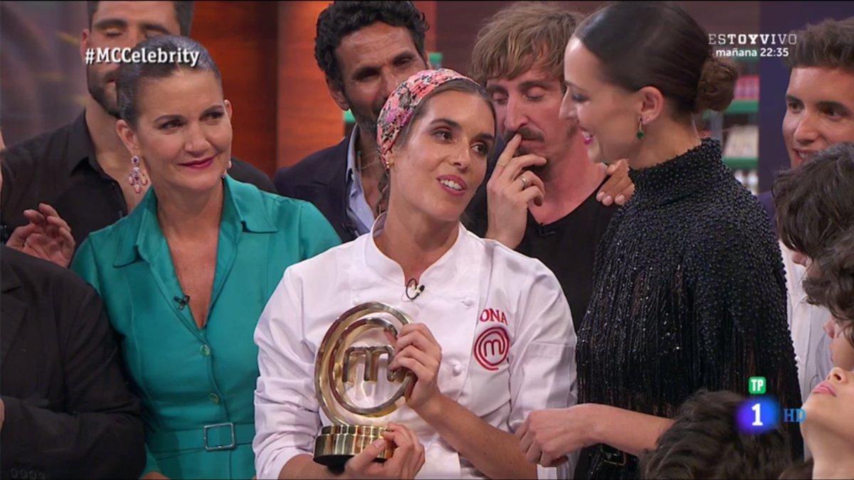 Masterchef Celebrity 2018: Ona Carbonell gana Masterchef Celebrity 3