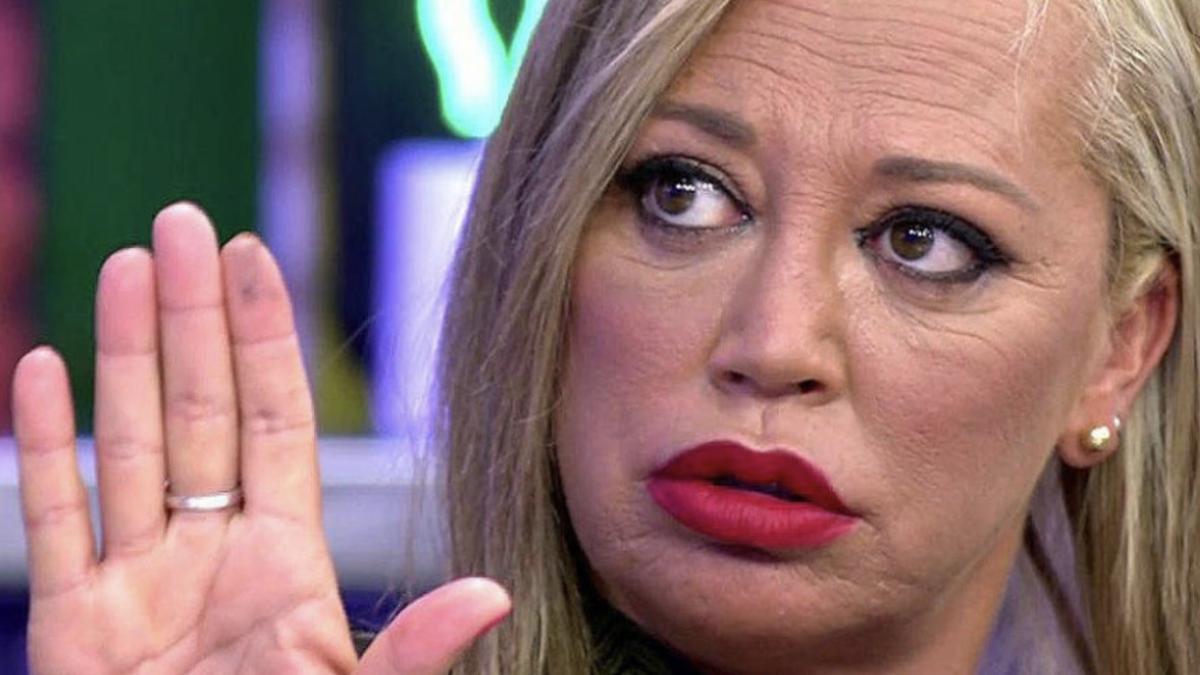 Belén Esteban la fa grossa a 'Sálvame' a l'explicar el fals embaràs de María Lama (Kiss FM)