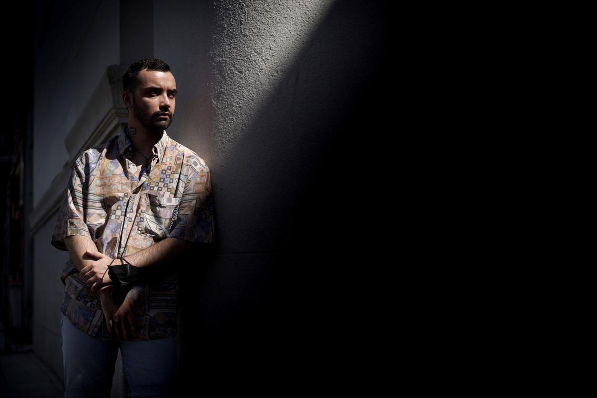 Édgar Cordido entró en depresión en marzo de 2019 y recayó en la pandemia.