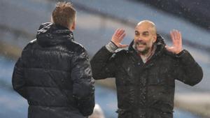 El City de Guardiola, líder provisional de la Premier després de batre l'Aston Villa (2-0)