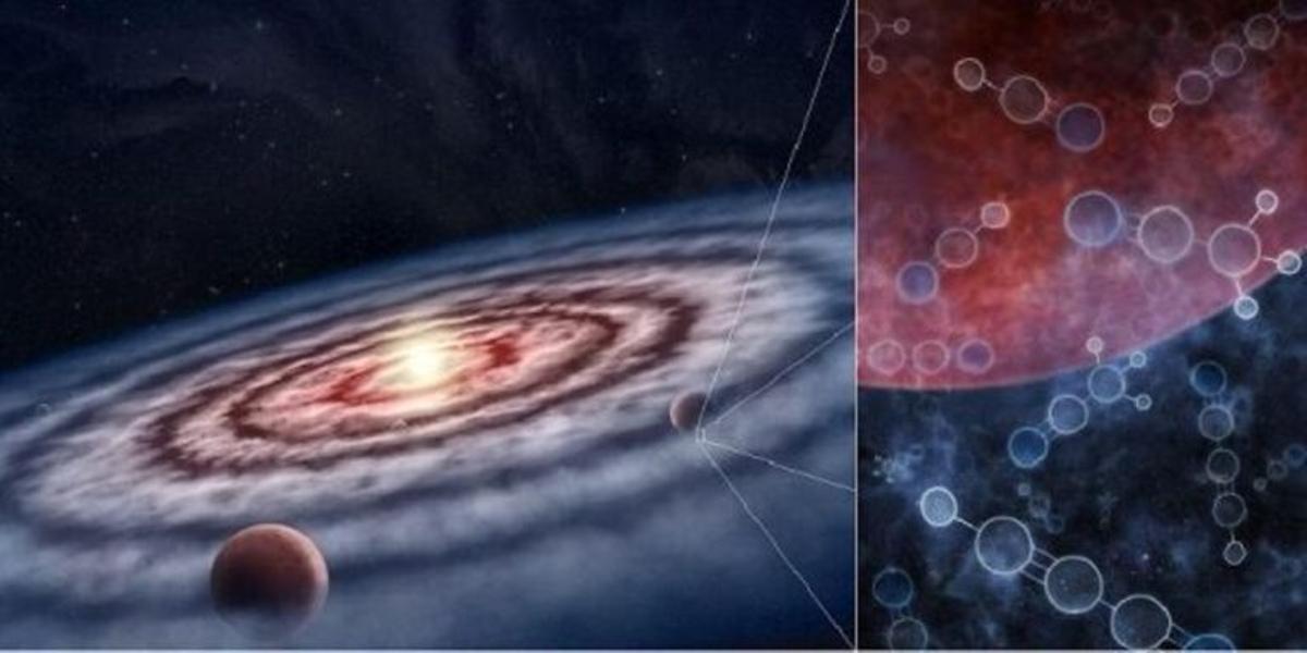 Las moléculas que originan la vida están desperdigadas por toda la galaxia
