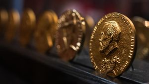 Medallas de Alfred Nobel.