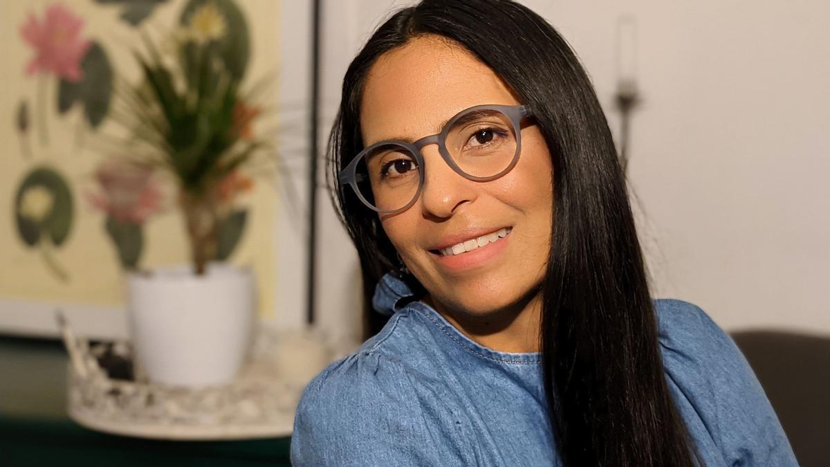 La bióloga guatemalteca Claudia Romero.