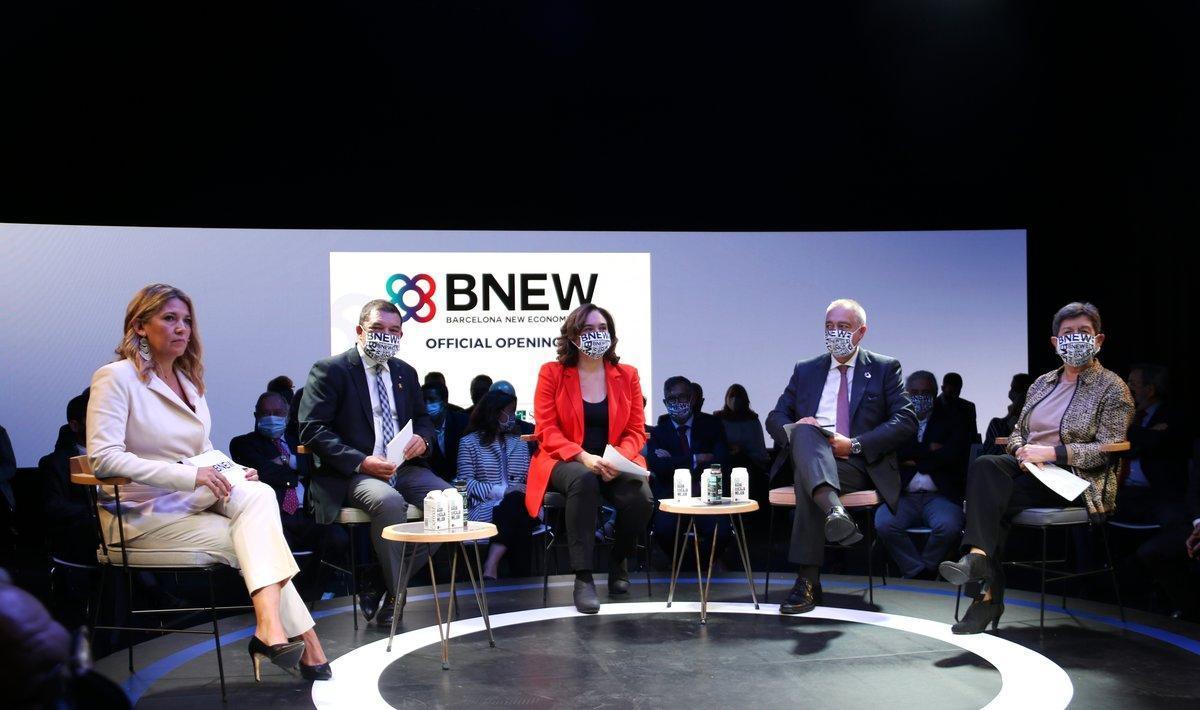 Acto de inauguración del BNEW.