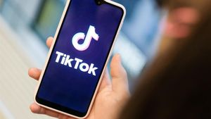 La 'app' Tik Tok, en un móvil.