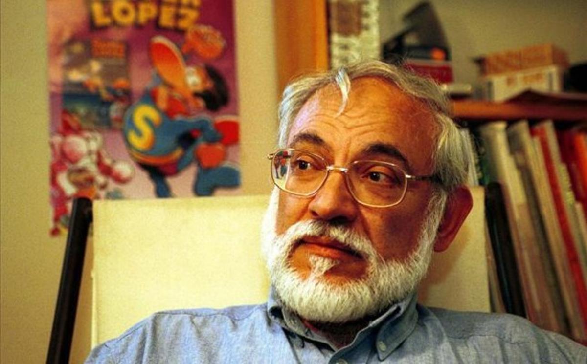 El dibujante Jan, creador de Superlópez y Pulgarcito.