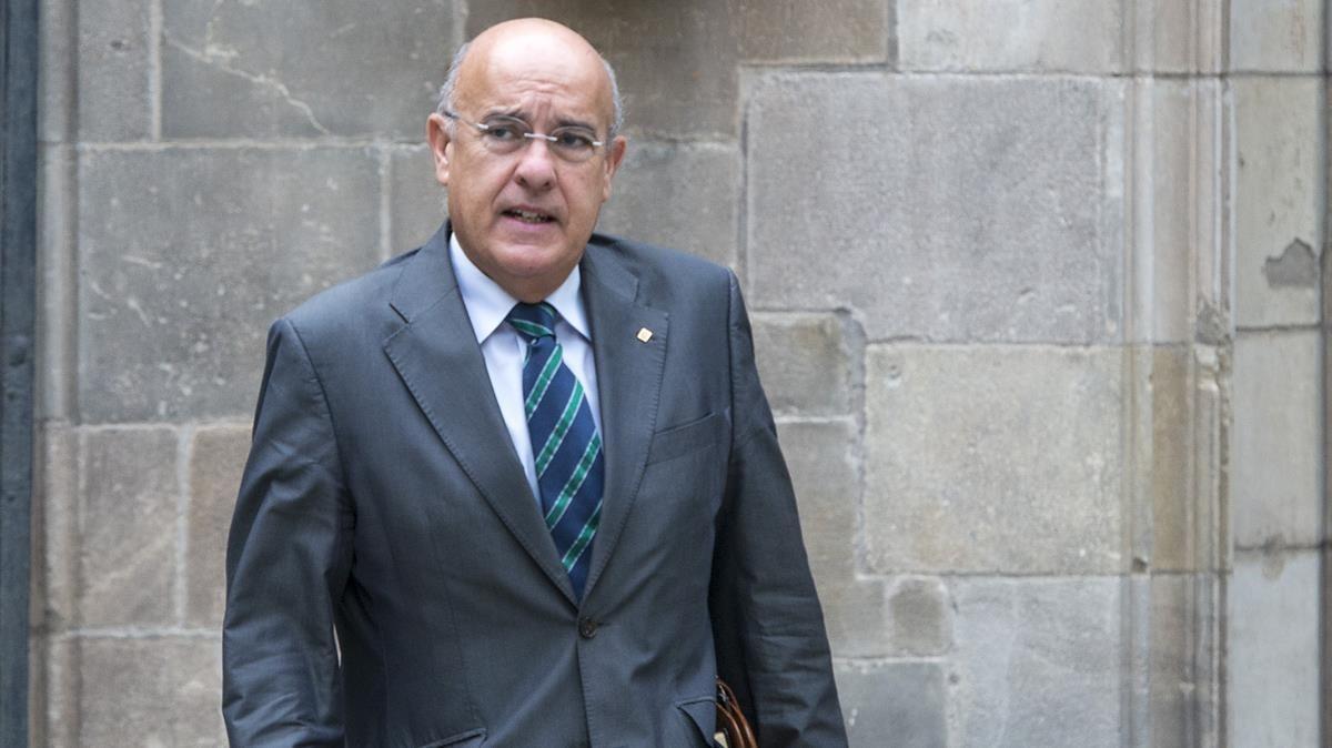 El 'exconseller' Boi Ruiz.