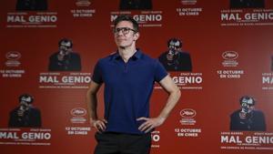 Michel Hazanavicius, en la presentación de 'Mal genio' en Madrid.