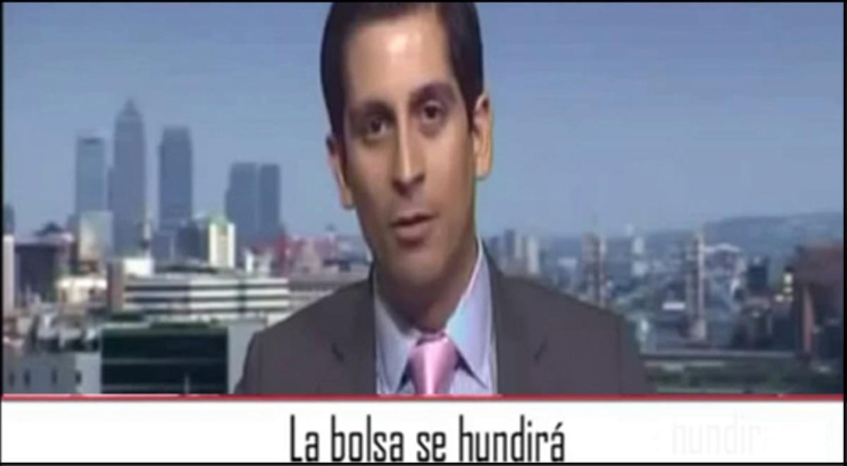 El agente de bolsa dice que los mercados se encuentran dominados por el miedo y augura el fin del euro.