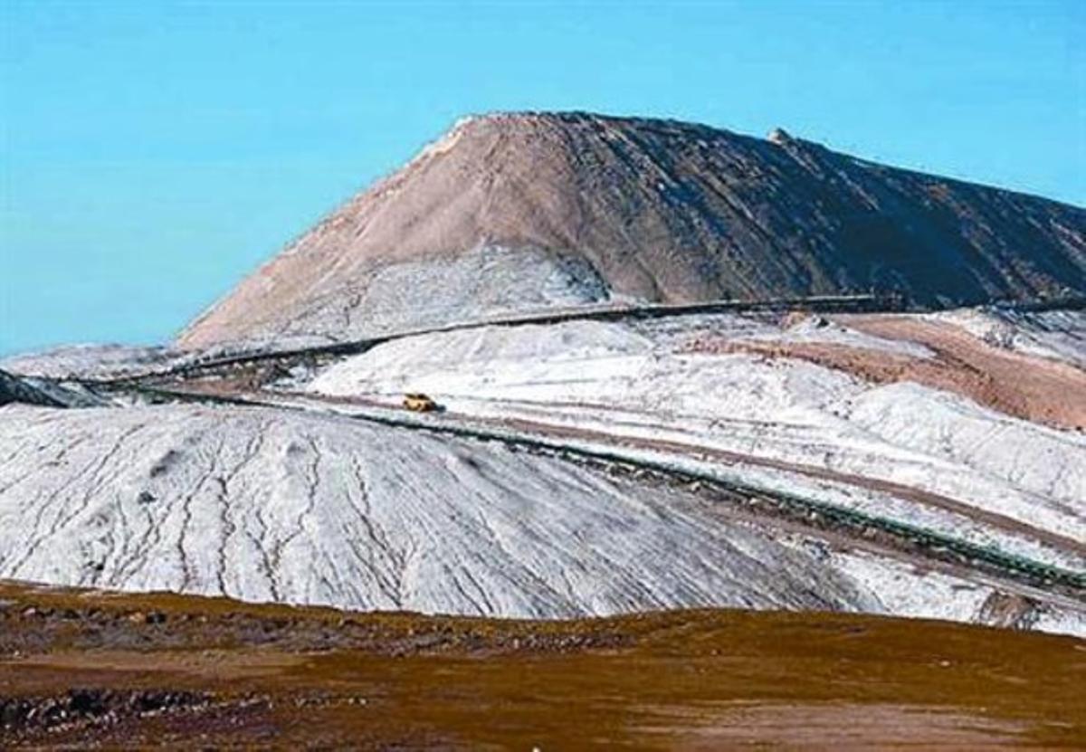 Acumulación 8 Montaña de sal de El Cogulló en Sallent.