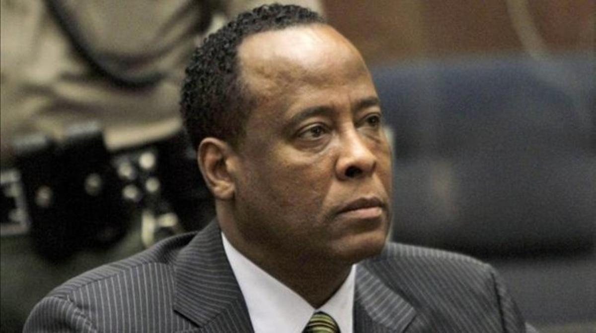 El médico de Michael Jackson, Conrad Murray, durante el juicio en elque fue condenado por homicidio en el 2011.