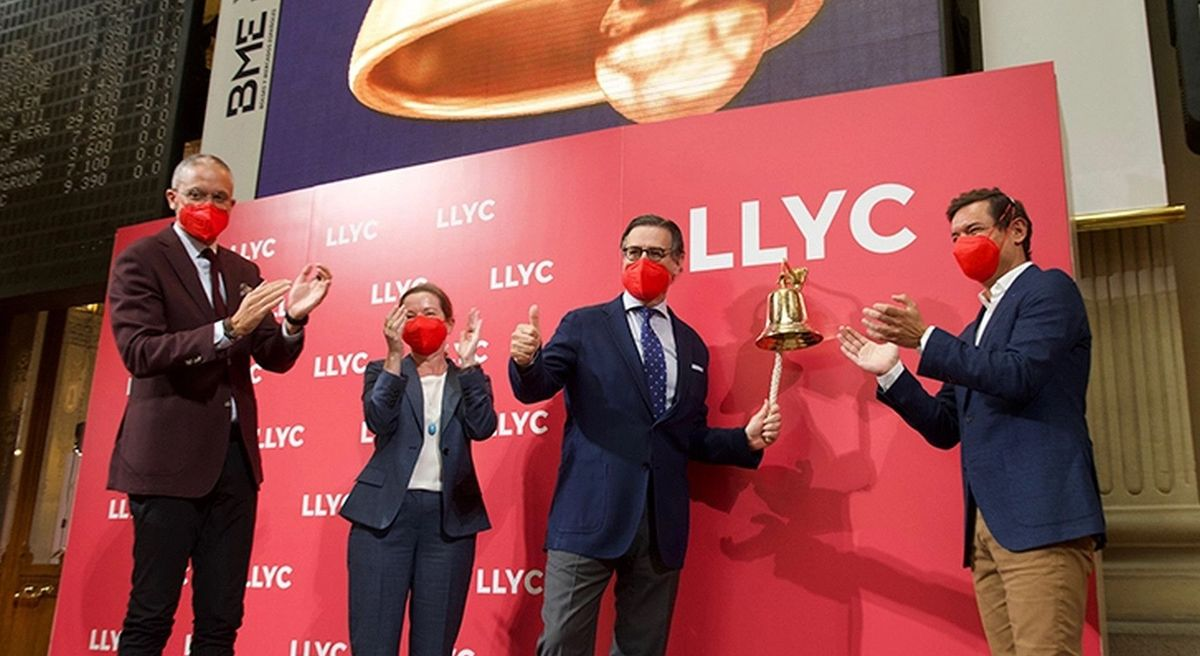 LLYC debuta en BME Growth con una subida del 49,1%