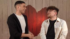 Boranay y Luis Miguel en 'First Dates'.