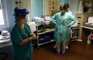 La pressió hospitalària creix i els ingressos es multipliquen per deu a l'Aragó
