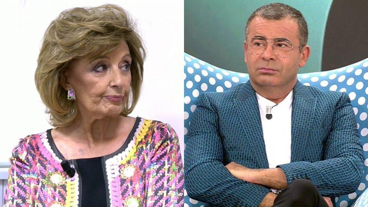 """Jorge Javier rebaja el tono con María Teresa Campos pero le lanza un nuevo dardo: """"No está preparada para el adiós"""""""