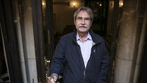 El escritor barcelonés Jaume Cabré, en una imagen de archivo.
