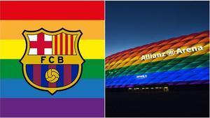 El Barça recolza a les seves xarxes el moviment LGTBI