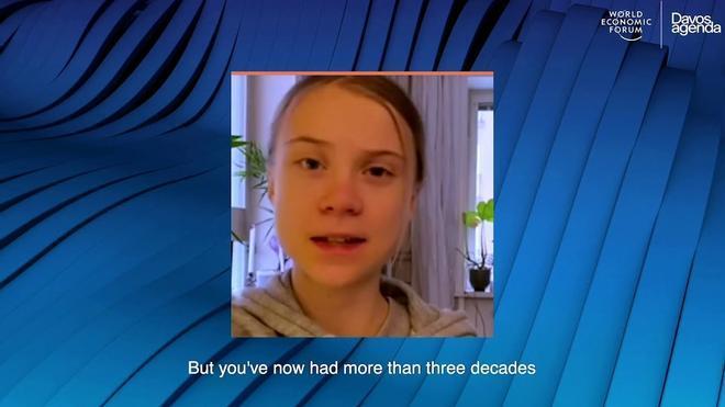 Greta Thunberg, en Davos: La esperanza viene de la acción, no solo de las palabras