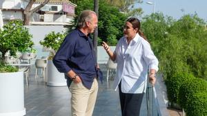 Bertín Osborne y Vicky Martín Berrocal en 'Mi casa es la tuya'.