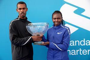 Los vencedores en Dubái.