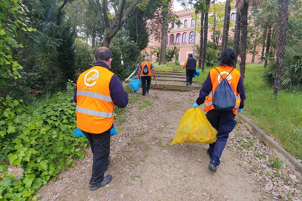 El Ayuntamiento de Sant Boi confía la limpieza de parterres a Igualssom