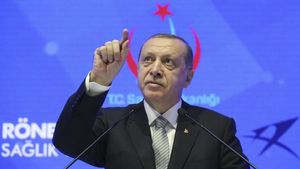 El presidente turco, Recep TayyipErdogan.