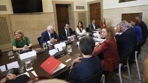 Gobierno y Generalitat reunidos en la Comisión Bilateral.