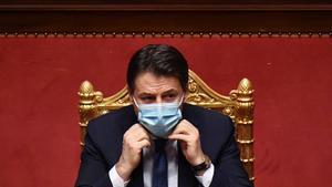 Conte es juga al Senat la seva continuïtat al capdavant del Govern d'Itàlia