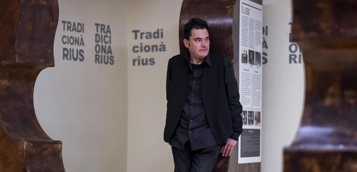 Marc Egea, fotografiado en el Centre Artesa Tradicionarius