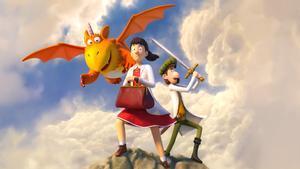 El dragon Zog, la princesa Gessamí y el caballero Rodalmón protagonizan este cuento.