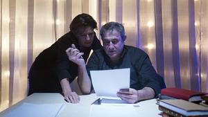 Míriam Iscla y Sergi López, en un momento de la obra.
