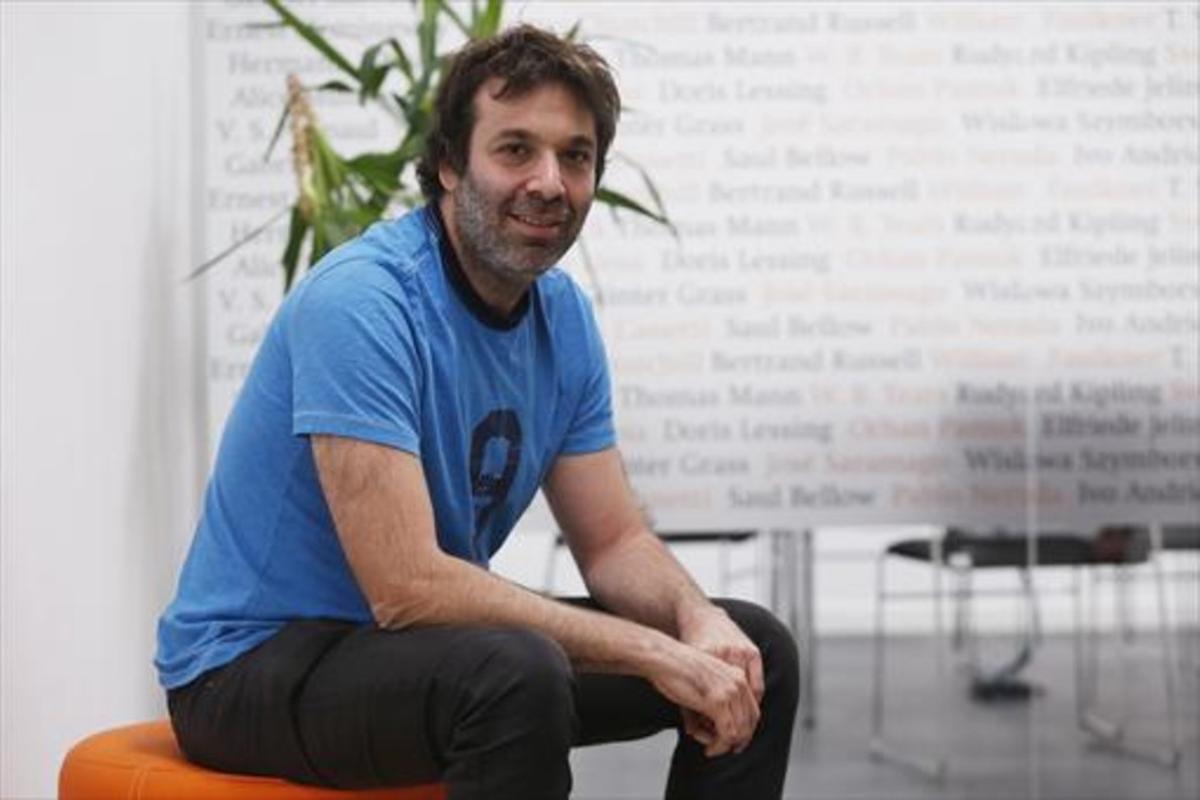 Mariano Sigman, durante la entrevista celebrada hace unos días en Madrid.