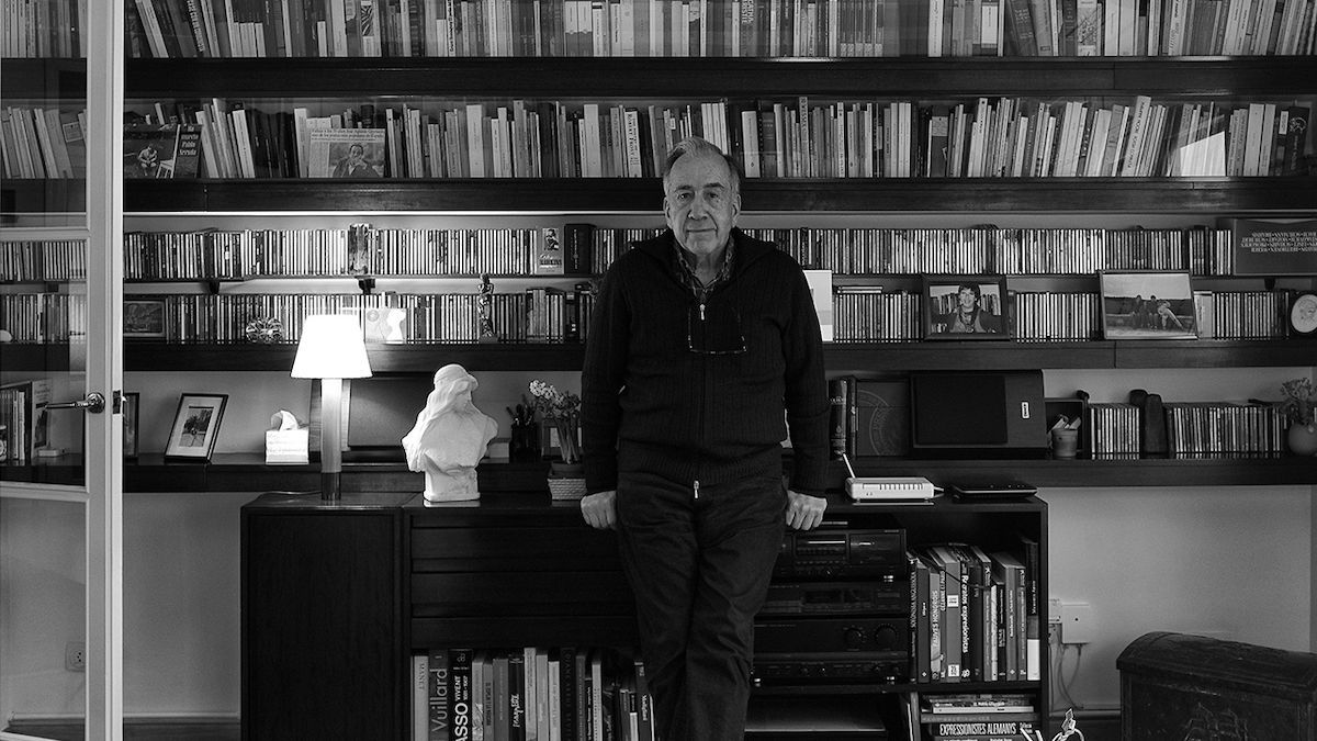El poeta Joan Margarit recita 'De Senectute'