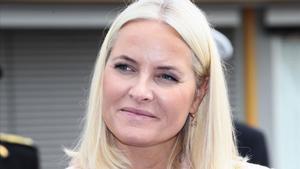 La princesa Mette-Marit, la esposa del príncipe Haakon de Noruega.