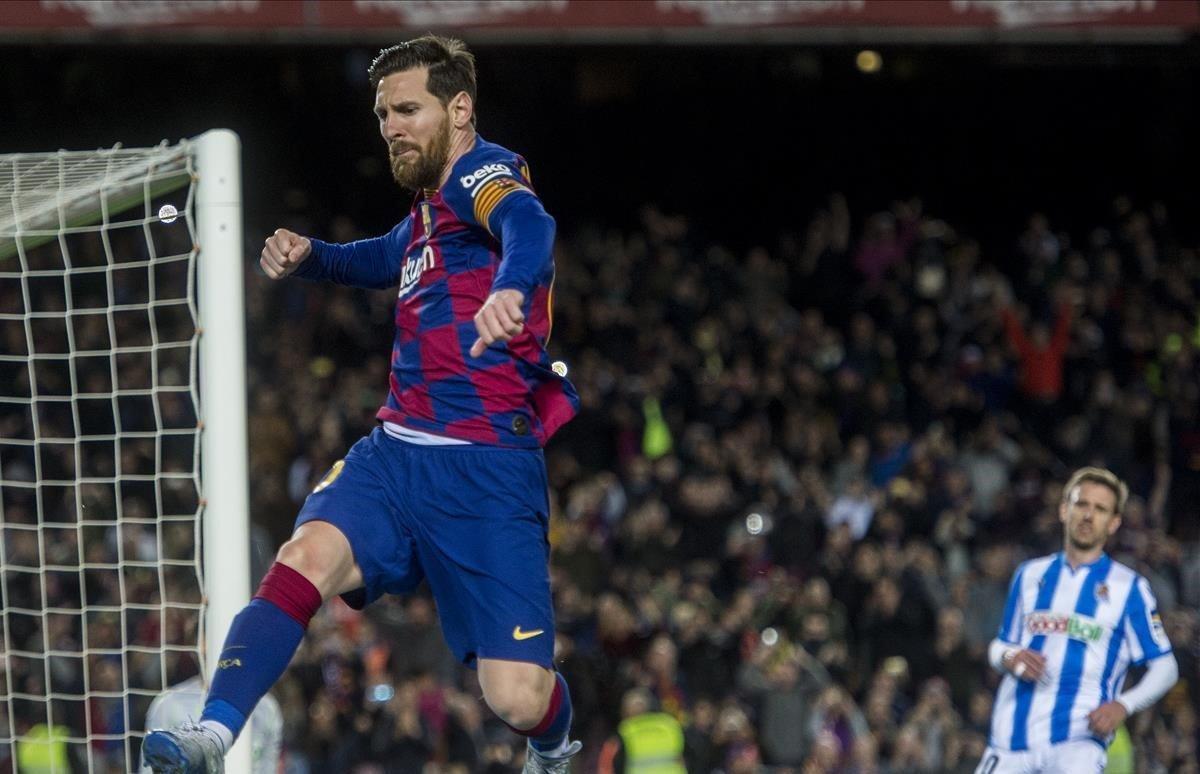 El último gol de Messi antes de la pandemia